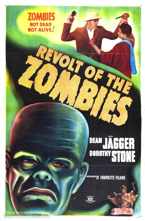 Revolt of the Zombies - Movie Poster