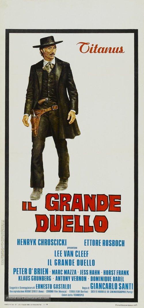 Il grande duello - Italian Movie Poster
