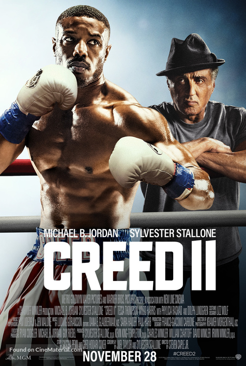 Creed II - Philippine Movie Poster