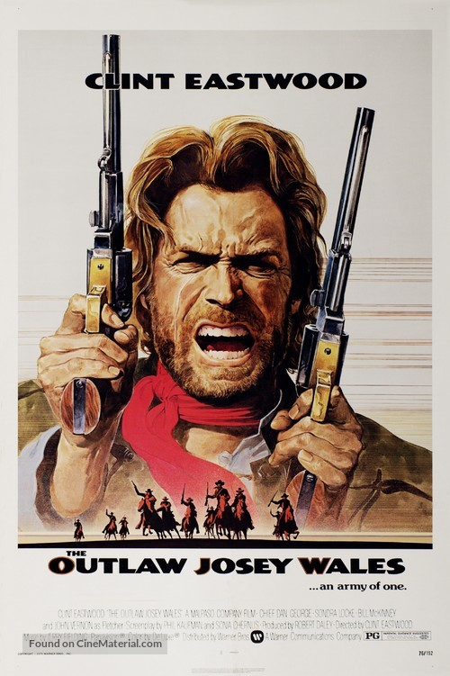 The Outlaw Josey Wales - Movie Poster