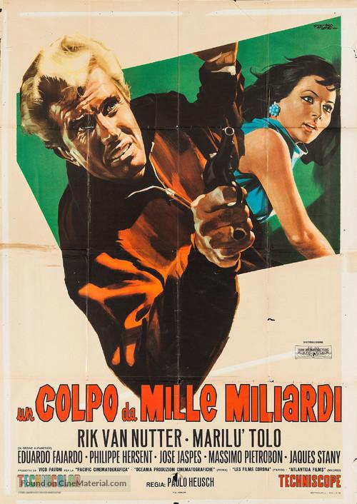 Un colpo da mille miliardi - Italian Movie Poster