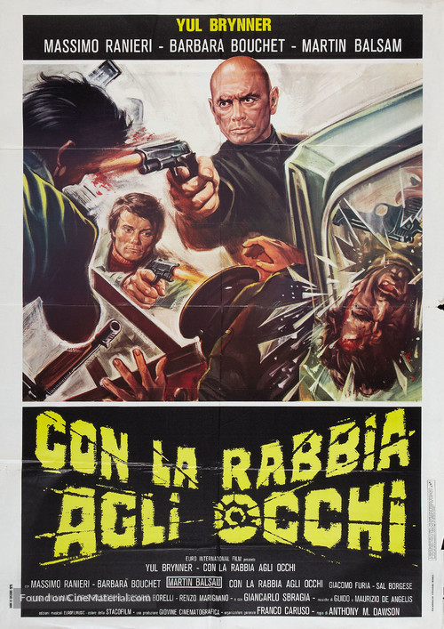 Con la rabbia agli occhi - Italian Movie Poster