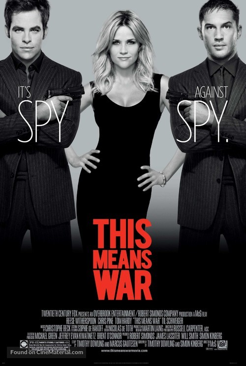 This Means War - Movie Poster