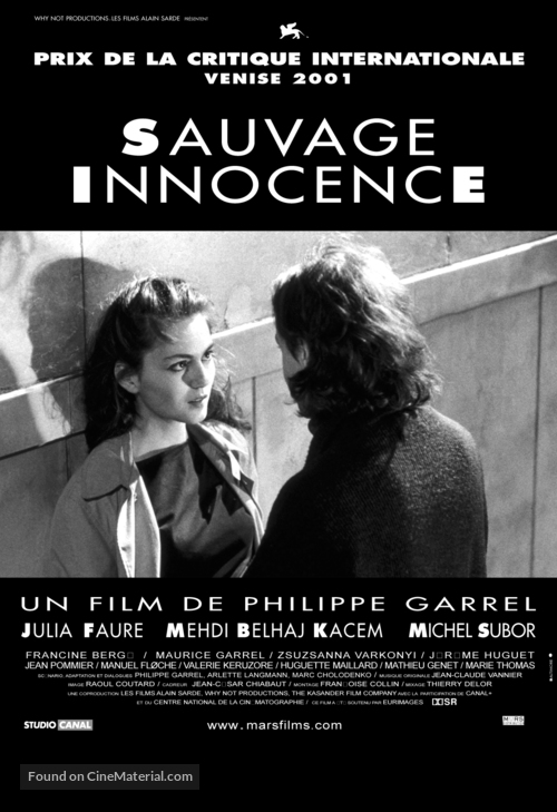 Sauvage innocence - French Movie Poster
