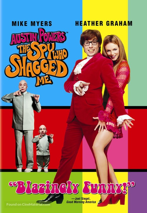 Austin Powers: The Spy Who Shagged Me - DVD cover