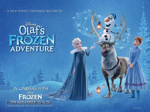 Olaf 39 s frozen adventure british movie poster - Olaf s frozen adventure download ...