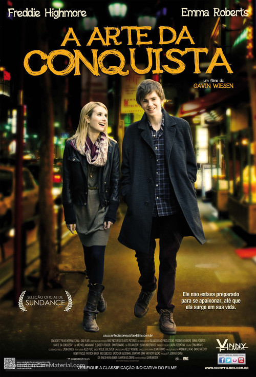 The Art of Getting By - Brazilian Movie Poster