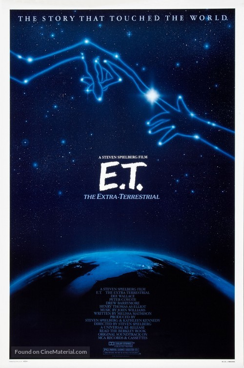 E.T.: The Extra-Terrestrial - Theatrical poster