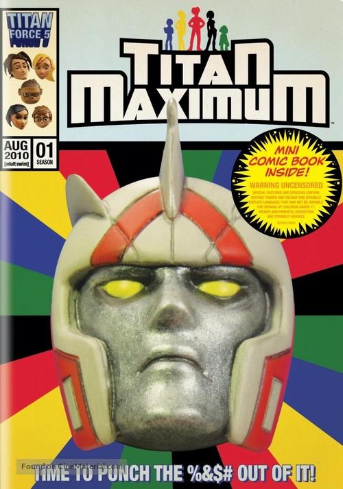"""""""Titan Maximum"""" - DVD cover"""