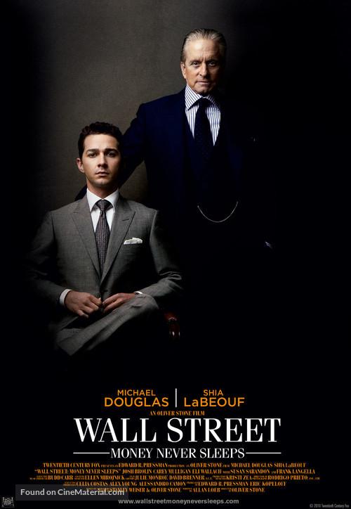 Wall Street: Money Never Sleeps - Movie Poster