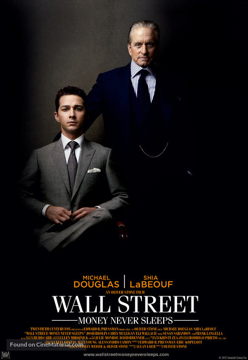 Wall Street: Money Never Sleeps - Movie Poster
