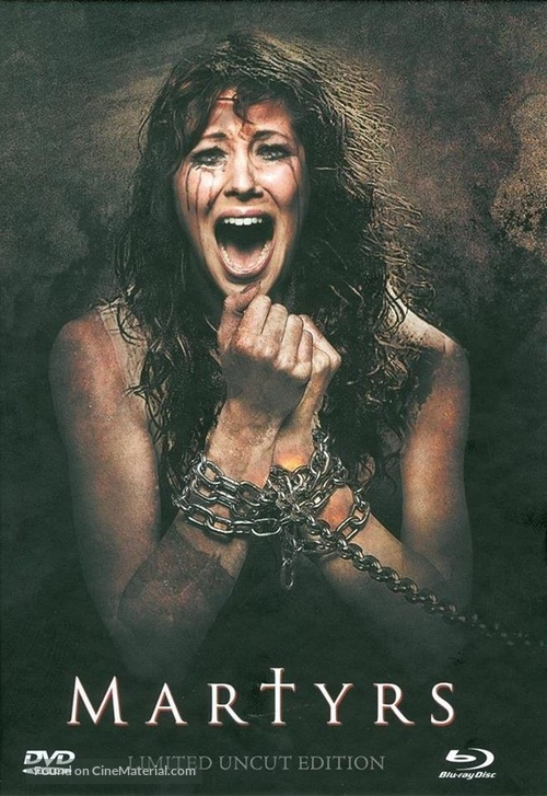 Martyrs - German Blu-Ray movie cover