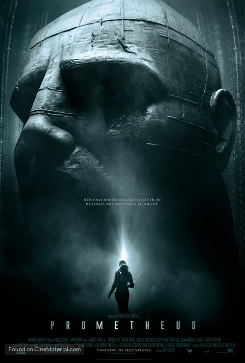 Prometheus - Turkish Movie Poster