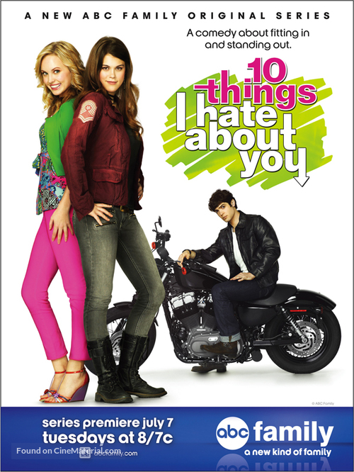 """""""10 Things I Hate About You"""" - Movie Poster"""