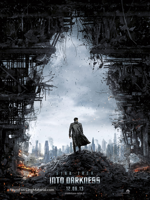 Star Trek: Into Darkness - French Movie Poster