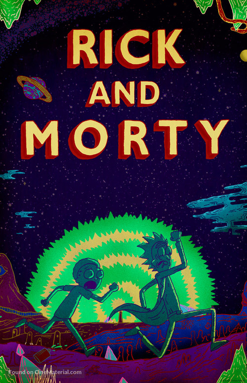 """""""Rick and Morty"""" - Movie Poster"""
