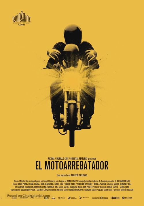 El Motoarrebatador - Argentinian Movie Poster