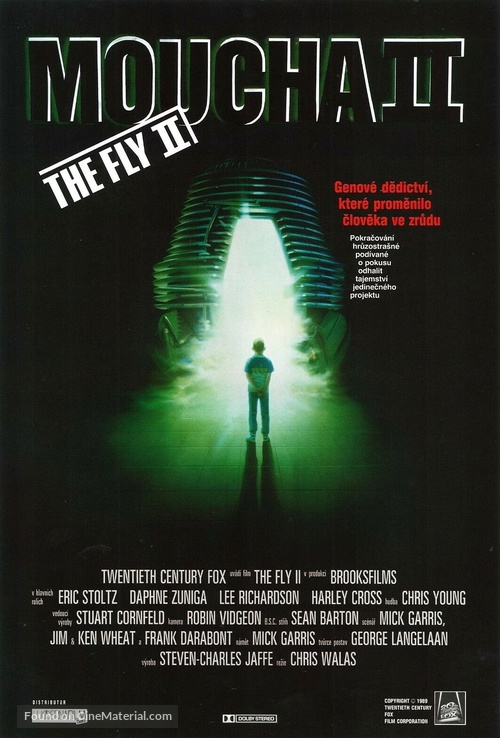 The Fly II - Czech Movie Poster