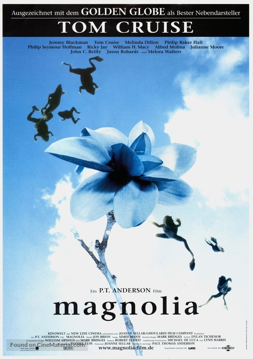 Magnolia - German Movie Poster