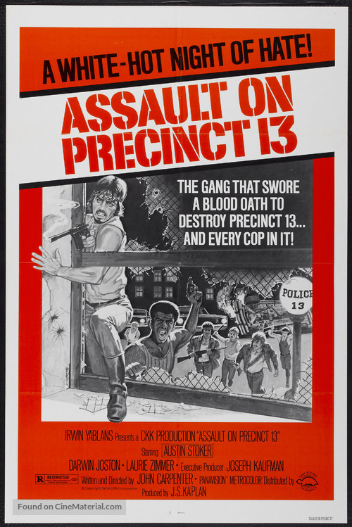 Assault on Precinct 13 - Movie Poster