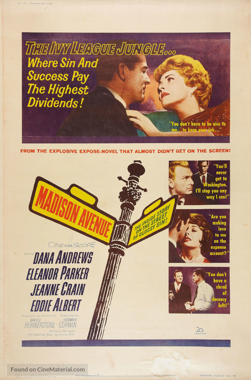 Madison Avenue - Movie Poster