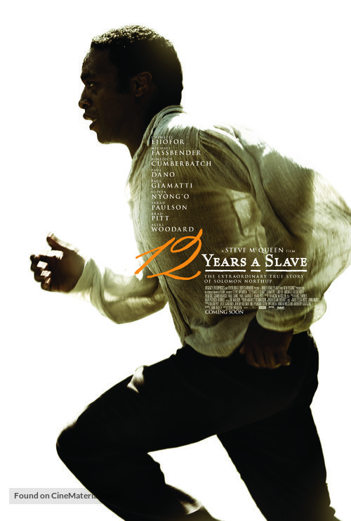 12 Years a Slave - Movie Poster