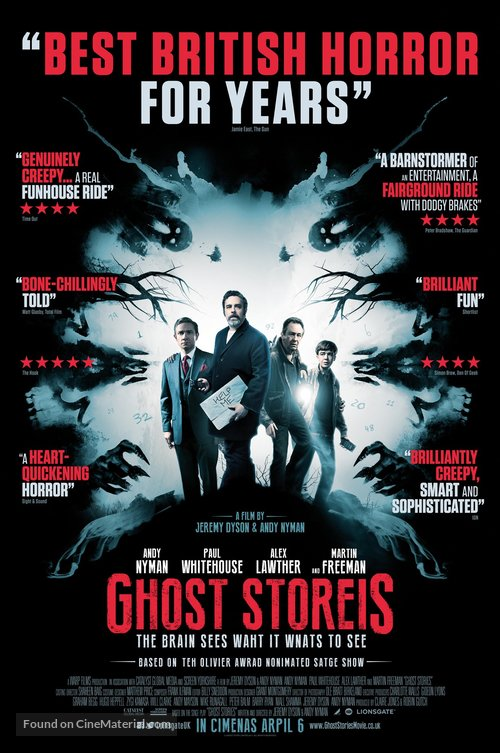 Ghost Stories - British Movie Poster