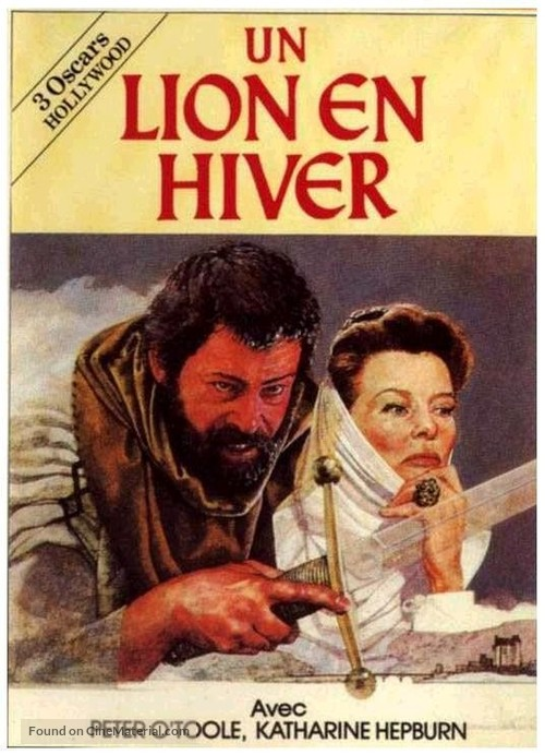 The Lion in Winter - French Movie Cover