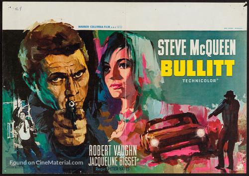 Bullitt - Belgian Movie Poster