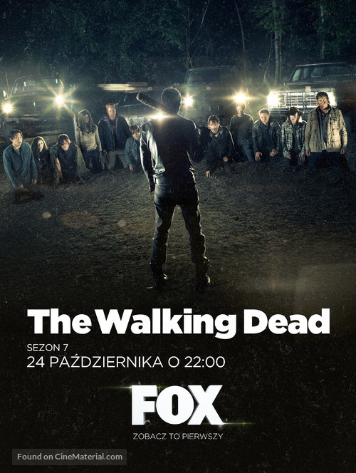 """""""The Walking Dead"""" - Polish Movie Poster"""