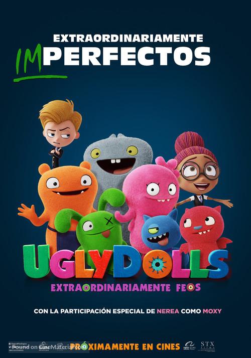 UglyDolls - Spanish Movie Poster