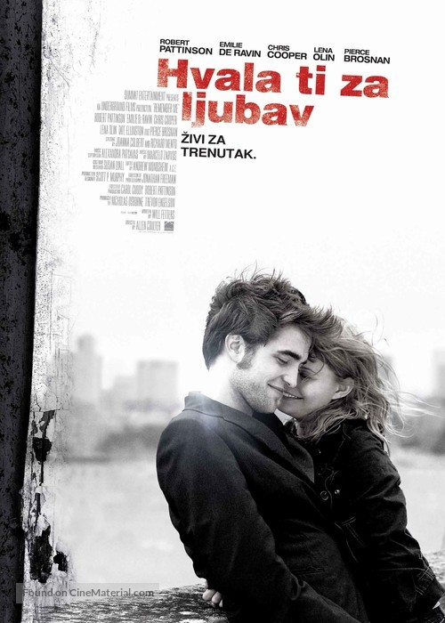 Remember Me - Croatian Movie Poster