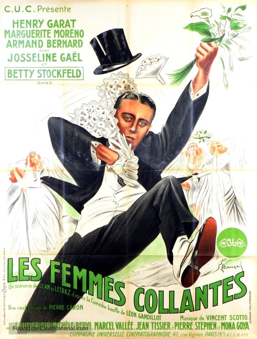 Les femmes collantes - French Movie Poster