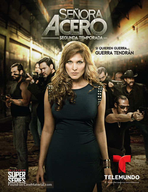 """Señora Acero"" - Mexican Movie Poster"