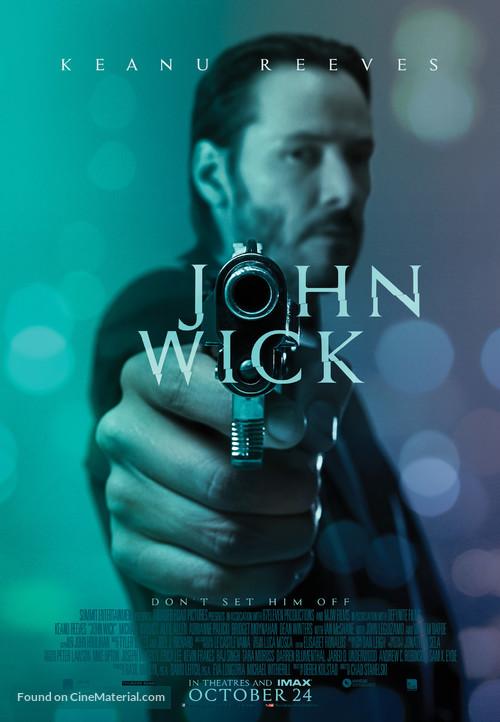 John Wick - Canadian Movie Poster