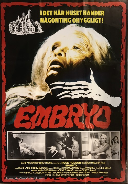 Embryo - Swedish Movie Poster