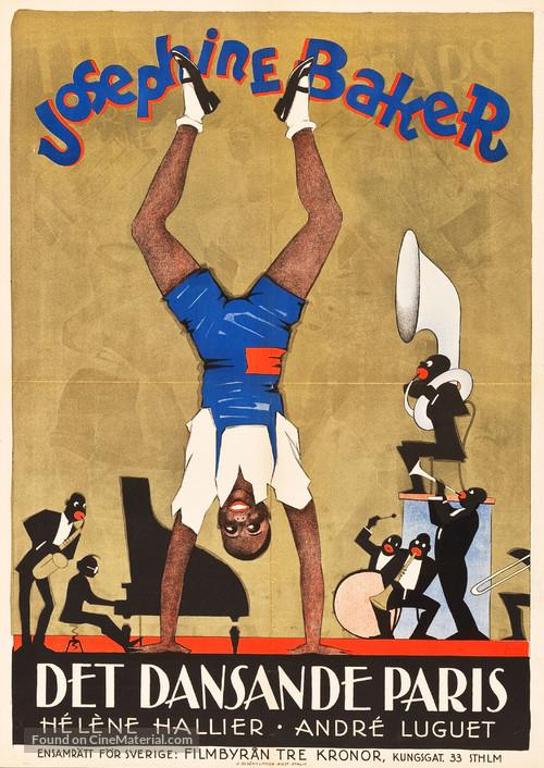 La revue des revues - Swedish Movie Poster