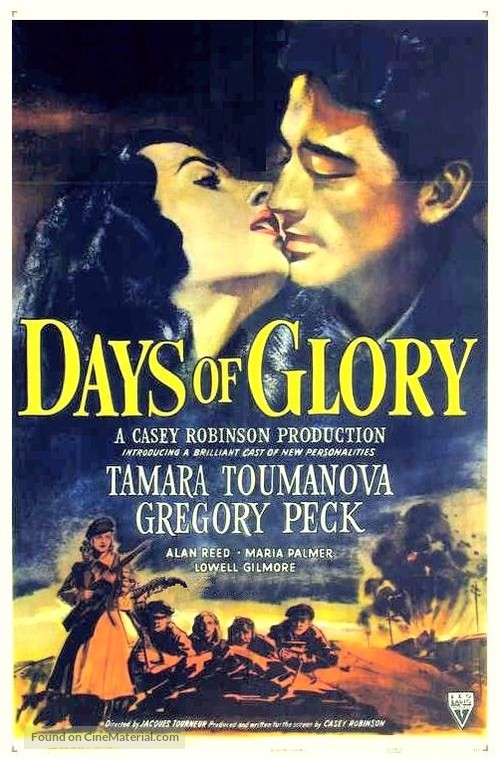 Days of Glory - Movie Poster