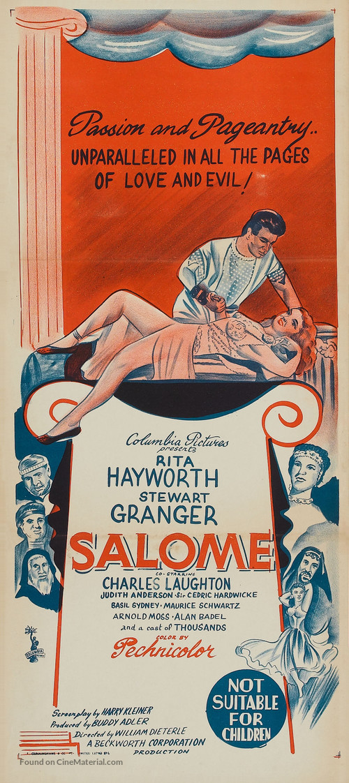 Salome - Australian Theatrical poster