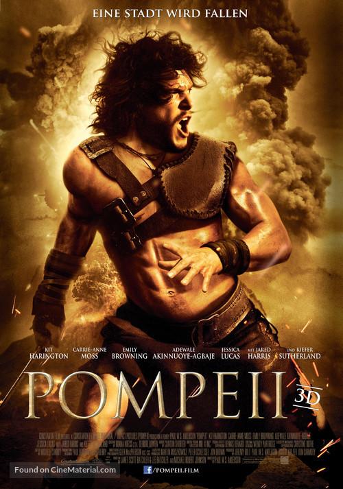 Pompeii - German Movie Poster
