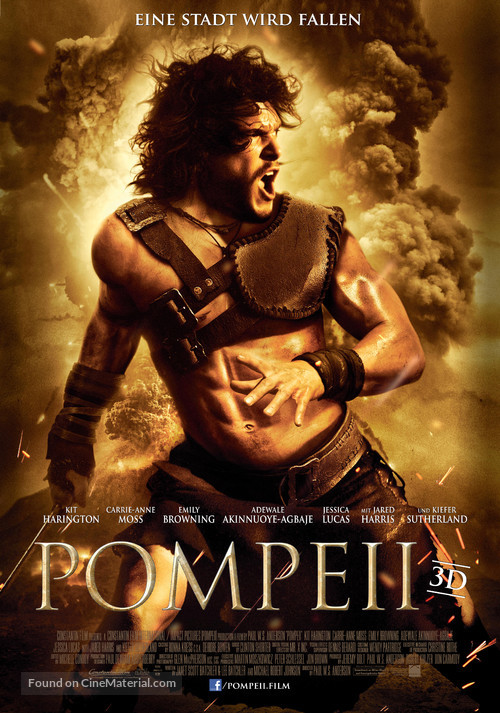 Pompeii - German Movie Poster