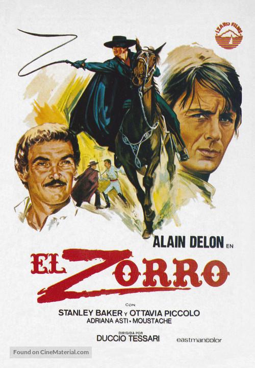 Zorro - Spanish Movie Poster