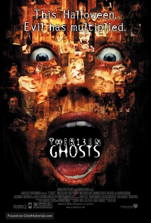 Thir13en Ghosts - Movie Poster