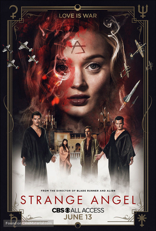"""Strange Angel"" - Movie Poster"