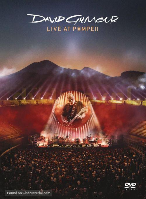 David Gilmour Live at Pompeii - British DVD cover