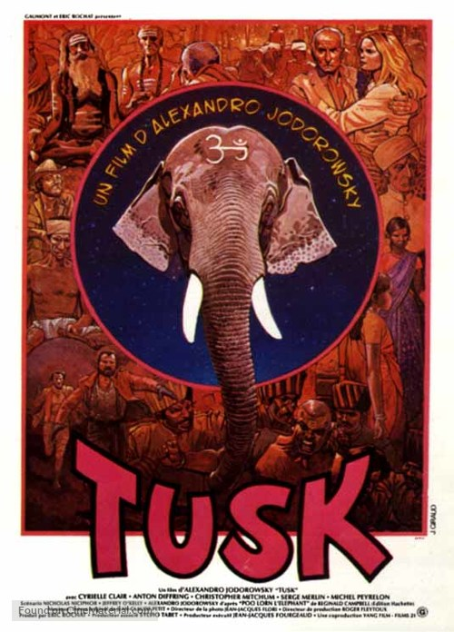 Tusk - French Movie Poster