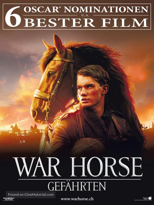 War Horse - Swiss Movie Poster