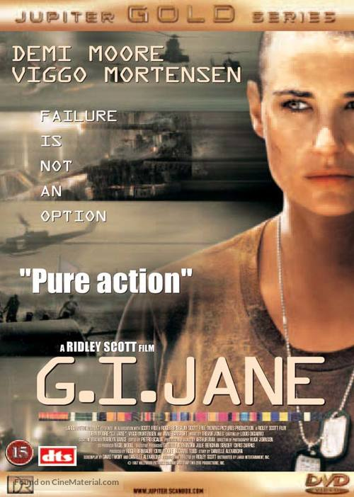 G.I. Jane - Danish DVD cover