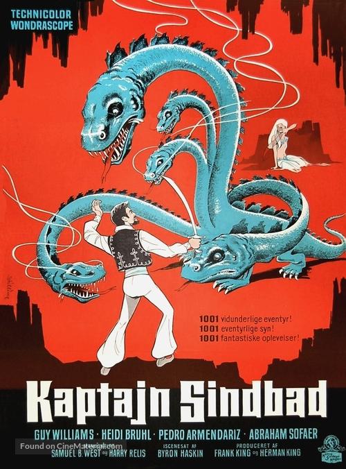 Captain Sindbad - Danish Movie Poster