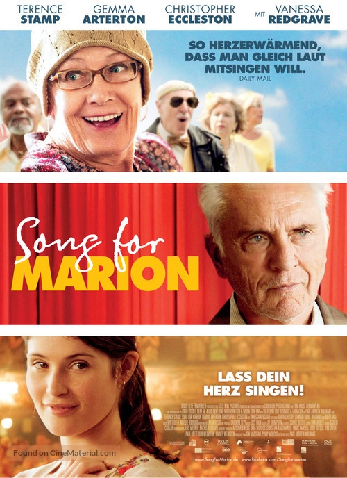 Song for Marion - German Movie Poster